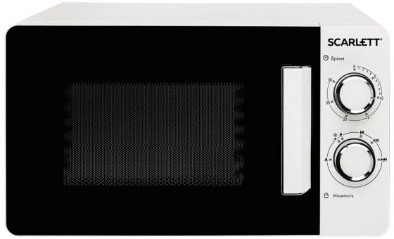 Микроволновая Печь Scarlett SC-MW9020S03M белый 700 Вт, 20 л
