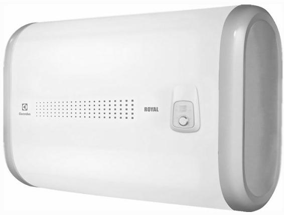 Водонагреватель накопительный Electrolux EWH 100 Royal H white 100л, плоский, 2000 Вт, механическое упр., горизонтальный