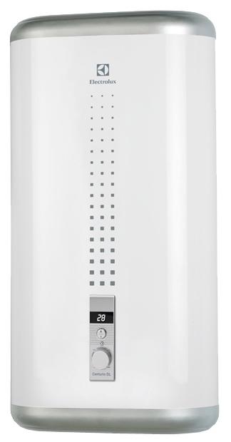 Водонагреватель накопительный Electrolux EWH 30 Centurio DL 30 л., плоский, белый, 2 кВт., электронное упр.