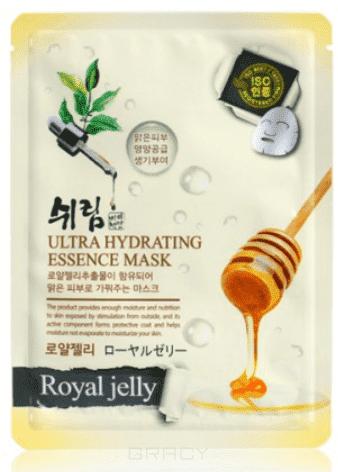 Тканевая маска для лица с натуральным экстрактом пчелиного маточного молочка, 25 мл