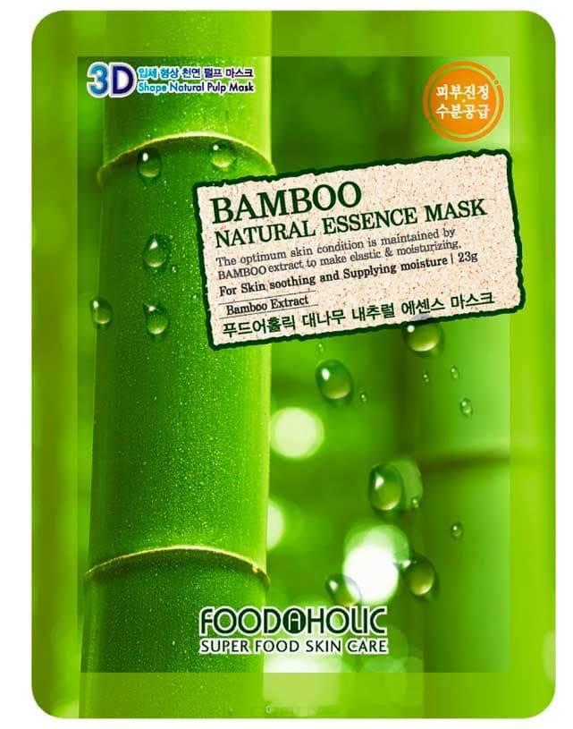 Тканевая маска для лица 3D с натуральным экстрактом бамбука, 23 мл