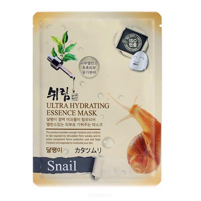 Тканевая маска для лица с натуральным экстрактом улиточного муцина, 25 мл