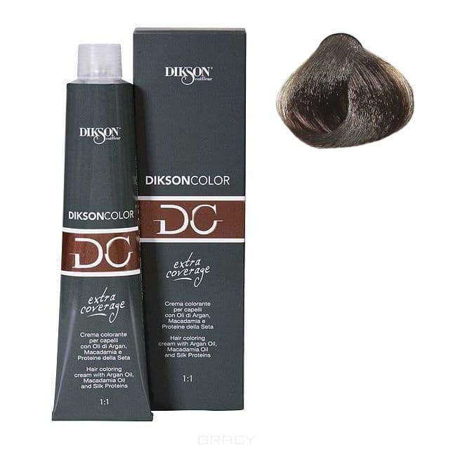 Стойкая парфюмированная крем-краска для волос Extra Coverage, 120 мл (8 оттенков) 121-05 5,00 Dikson extra coverage 5N/E светло-каштановый