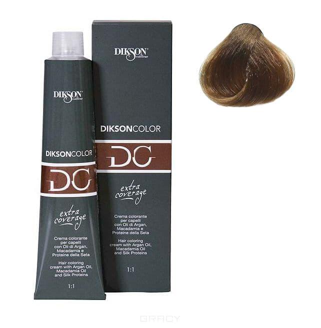 Стойкая парфюмированная крем-краска для волос Extra Coverage, 120 мл (8 оттенков) 121-07 7,00 Dikson extra coverage 7N/E русый