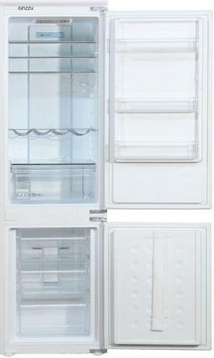 Встраиваемый двухкамерный холодильник GINZZU NFK-260 INVERTER