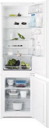 Встраиваемый двухкамерный холодильник ELECTROLUX ENN 93111 AW