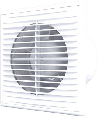 Вентилятор осевой вытяжной c антимоскитной сеткой AURAMAX