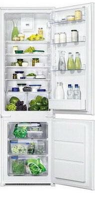 Встраиваемый двухкамерный холодильник ZANUSSI ZBB 928465 S