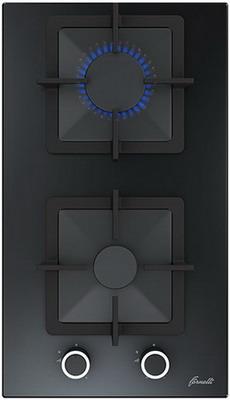 Встраиваемая газовая варочная панель FORNELLI PGT 30 CALORE BL