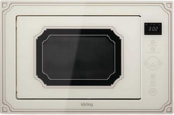 Встраиваемая микроволновая печь свч KORTING KMI 825 RGB