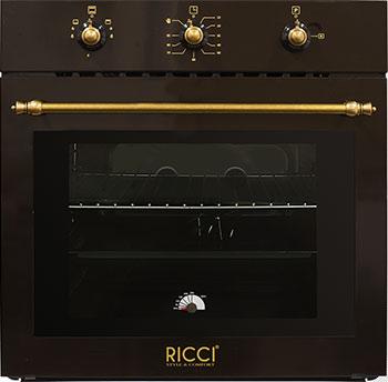 Встраиваемый газовый духовой шкаф RICCI RGO 620 BR