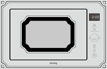 Встраиваемая микроволновая печь свч KORTING KMI 825 RGW