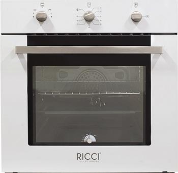 Встраиваемый газовый духовой шкаф RICCI RGO-610 WH