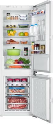 Встраиваемый двухкамерный холодильник HAIER BCFT 628 AWRU