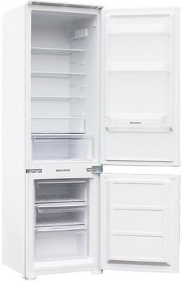 Встраиваемый двухкамерный холодильник SHIVAKI BMRI-1772