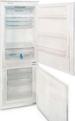 Встраиваемый двухкамерный холодильник GINZZU NFK-245