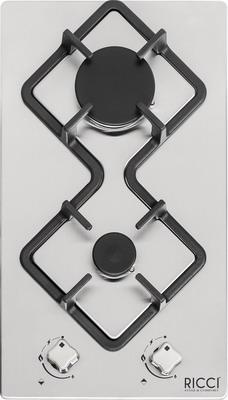 Встраиваемая газовая варочная панель RICCI RGN 650 BL