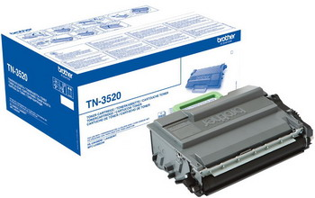 Монохромный лазерный принтер BROTHER TN 3520