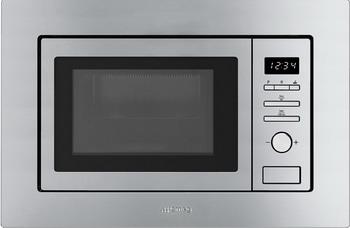 Встраиваемая микроволновая печь свч SMEG FMI017X