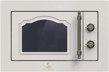 Встраиваемая микроволновая печь свч LEX BIMO 20.01 C IVORY LIGHT