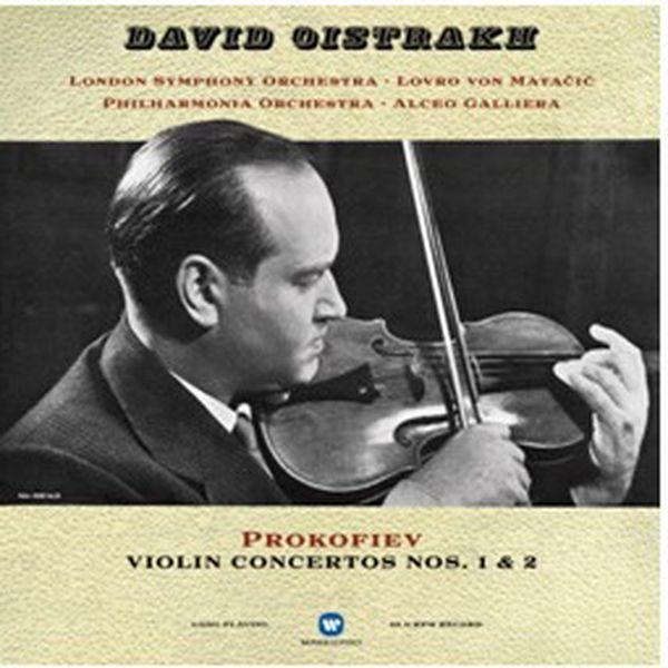 Виниловая пластинка WARNER MUSIC CLASSIC DAVID OISTRAKH:PROKOFIEV:VIOLIN CONCERTOS NOS.1#AND#2