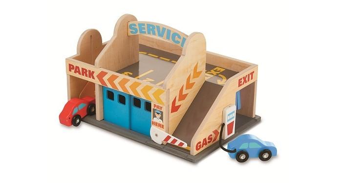 Классические игрушки Автостоянка