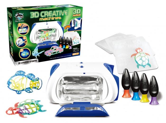 Принтер детский с набором картриджей и светящимся жидким полимером Y6601