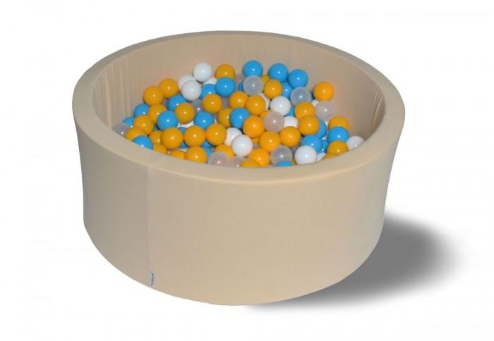 Сухой бассейн Жемчужная дискотека 40 см с комплектом шаров 200 шт.