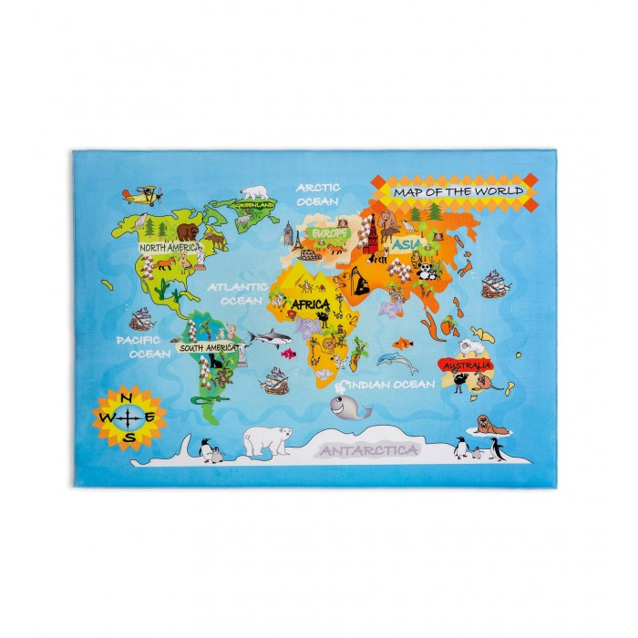 Ковер Soft Gravity World Carpet 100х150 см