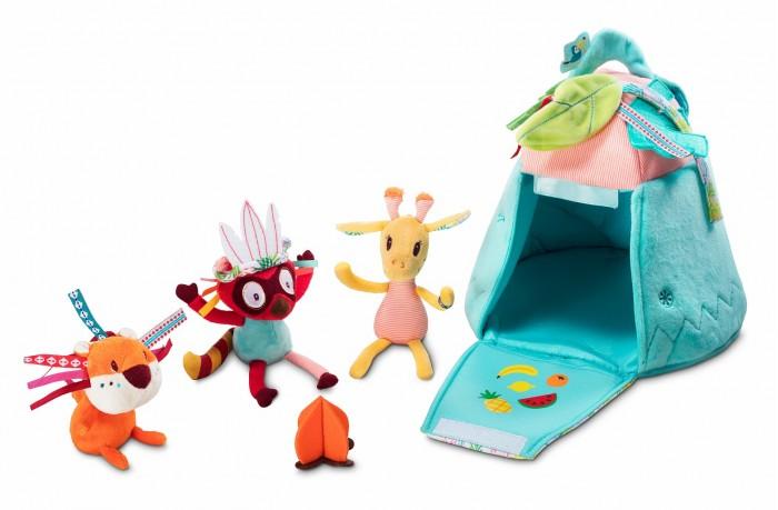 Развивающая игрушка Lilliputiens Набор игровой Вигвам
