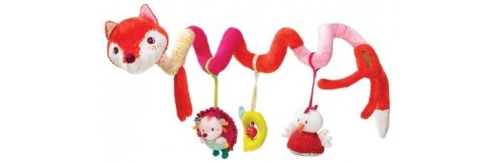 Лиса Алиса: игрушка-подвес спиральная