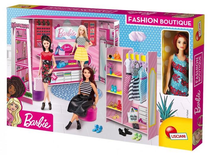 Модный магазин с настоящей Барби