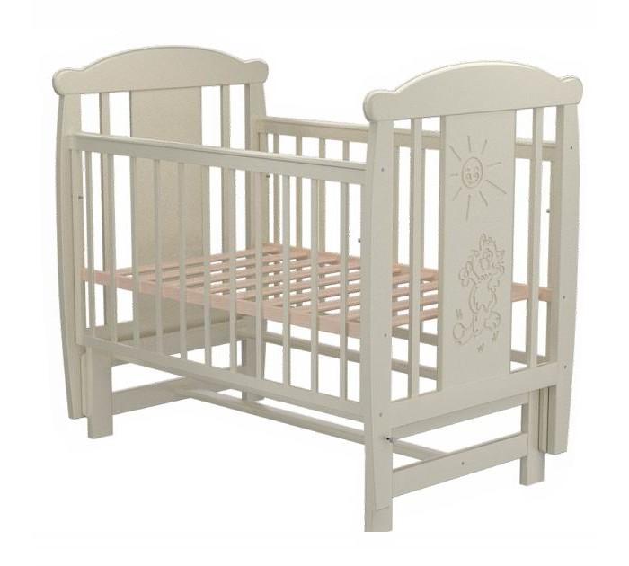 Детская кроватка Valle Cat 04 маятник поперечный