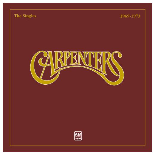 Carpenters Carpenters - The Singles 1969 - 1973