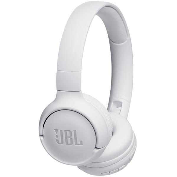 Беспроводные наушники микрофоном JBL TUNE 500BT WHITE (T500BTWHT)