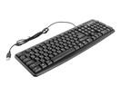 Клавиатура Defender Element HB-520 45522, цвет черный