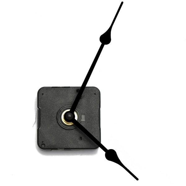 Стрелки черные кварцевые часы движение часы комплект DIY комплект