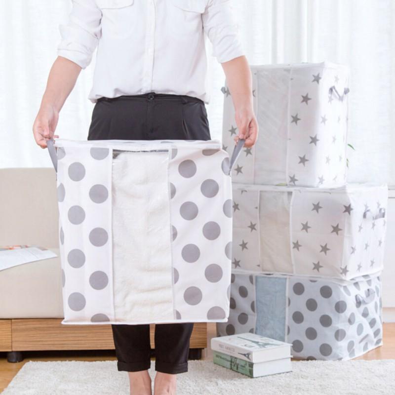 Нетканое полотно Star Шаблон Одежда Одеяло Большое Хранение Сумка Коробка