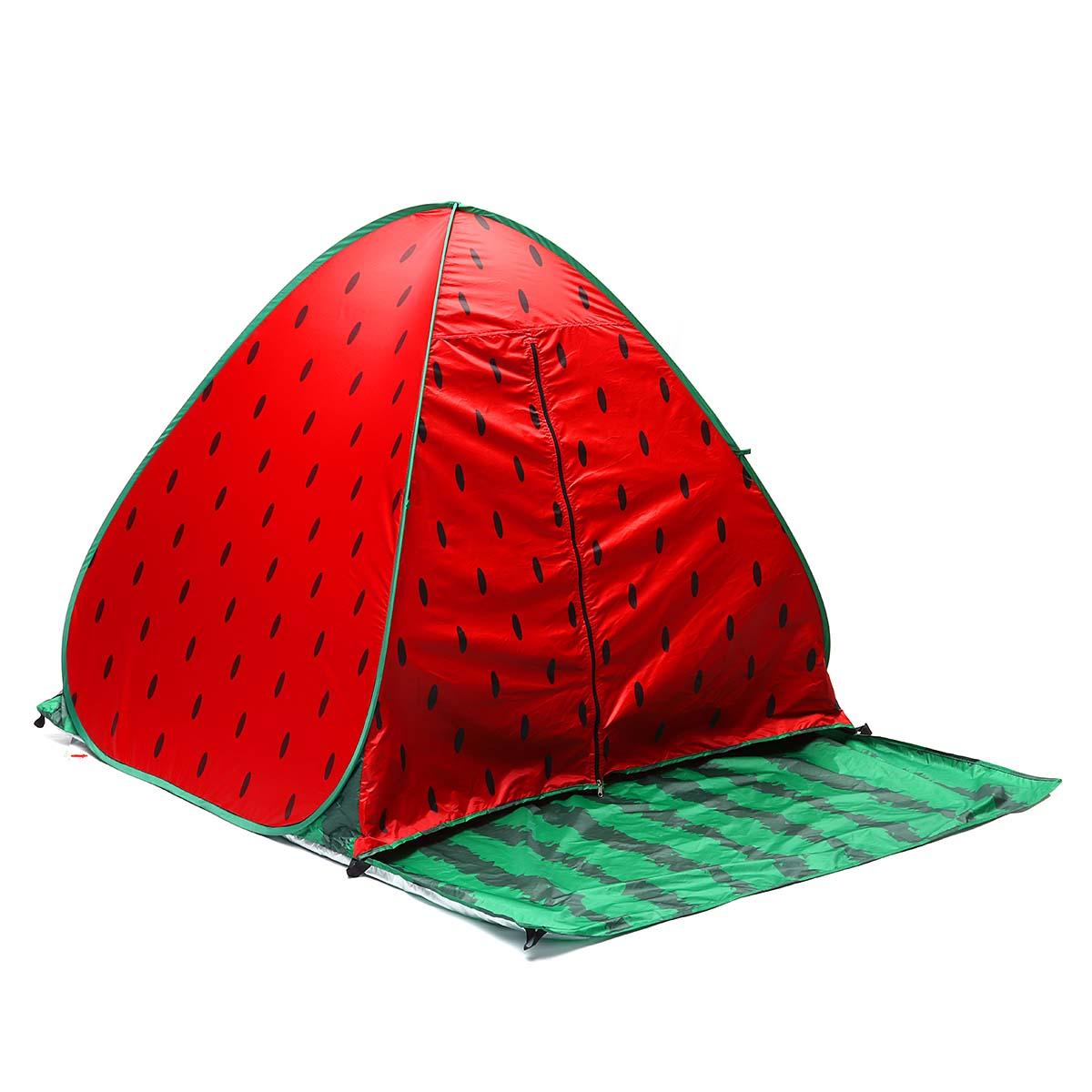НаоткрытомвоздухеКемпинг2-3человека Автоматическая палатка Pop Up Водонепроницаемы UV Доказательство Пляжный Приют для зонтика