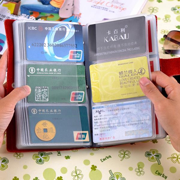 Из натуральной кожи мужской Универсальный Multi-Card Слот сумка Вместимость 90 карт Слоты Кошелек