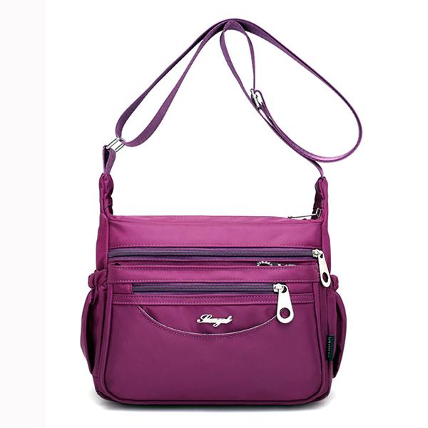 Женщины Мульти Карманы Легкие сумки на ремне Открытый Путешествия Водонепроницаемая Crossbody сумки посыльного сумки