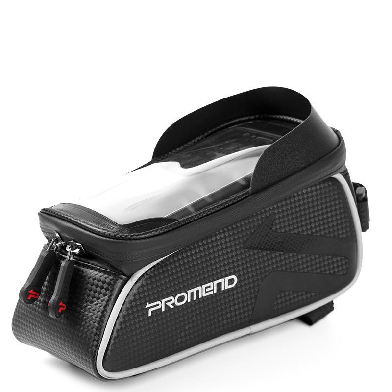 Дюймов Водонепроницаемы Сенсорный экран Ultralight 175 г Передняя рамка велосипеда Трубка Сумка