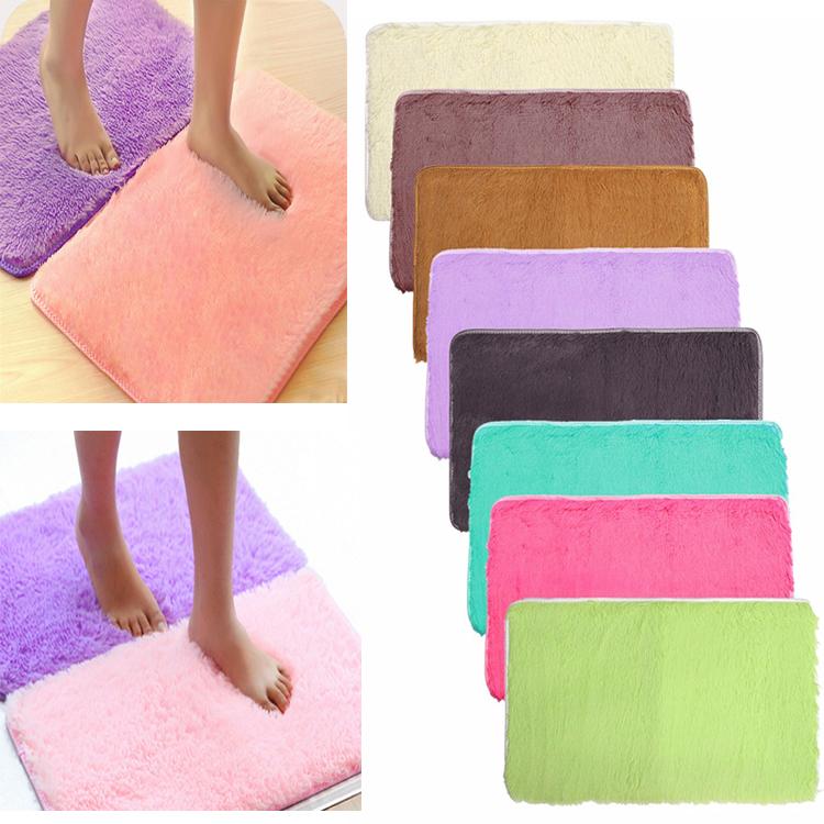 См absrobent лохматый ковер домой Антипробуксовочная коврик коврик для спальни мягкая
