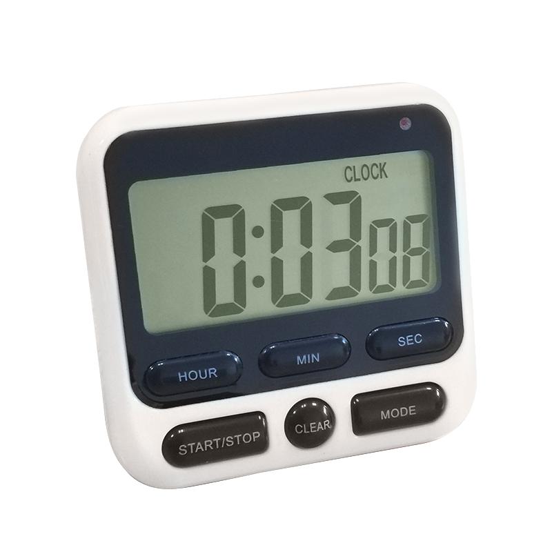 ML-KT01ЦифровойкухонныйтаймерГлавная LCD Экран Квадратный Приготовление пищи Обратный отсчет Будильник Сон Секундомер