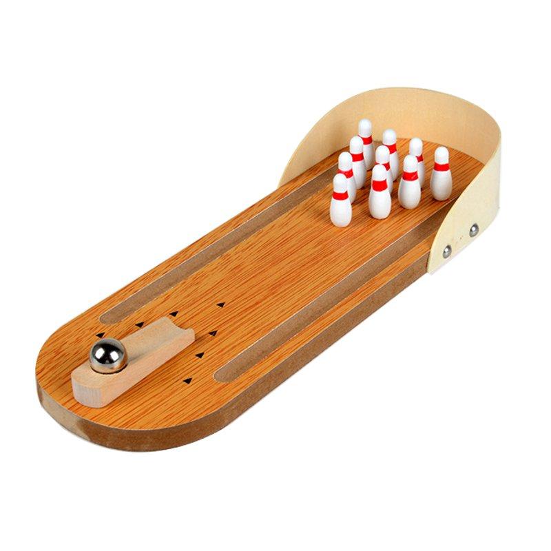 Деревянный стол для боулинга Игры в игры Party Fun Детские игрушки Настольные игры