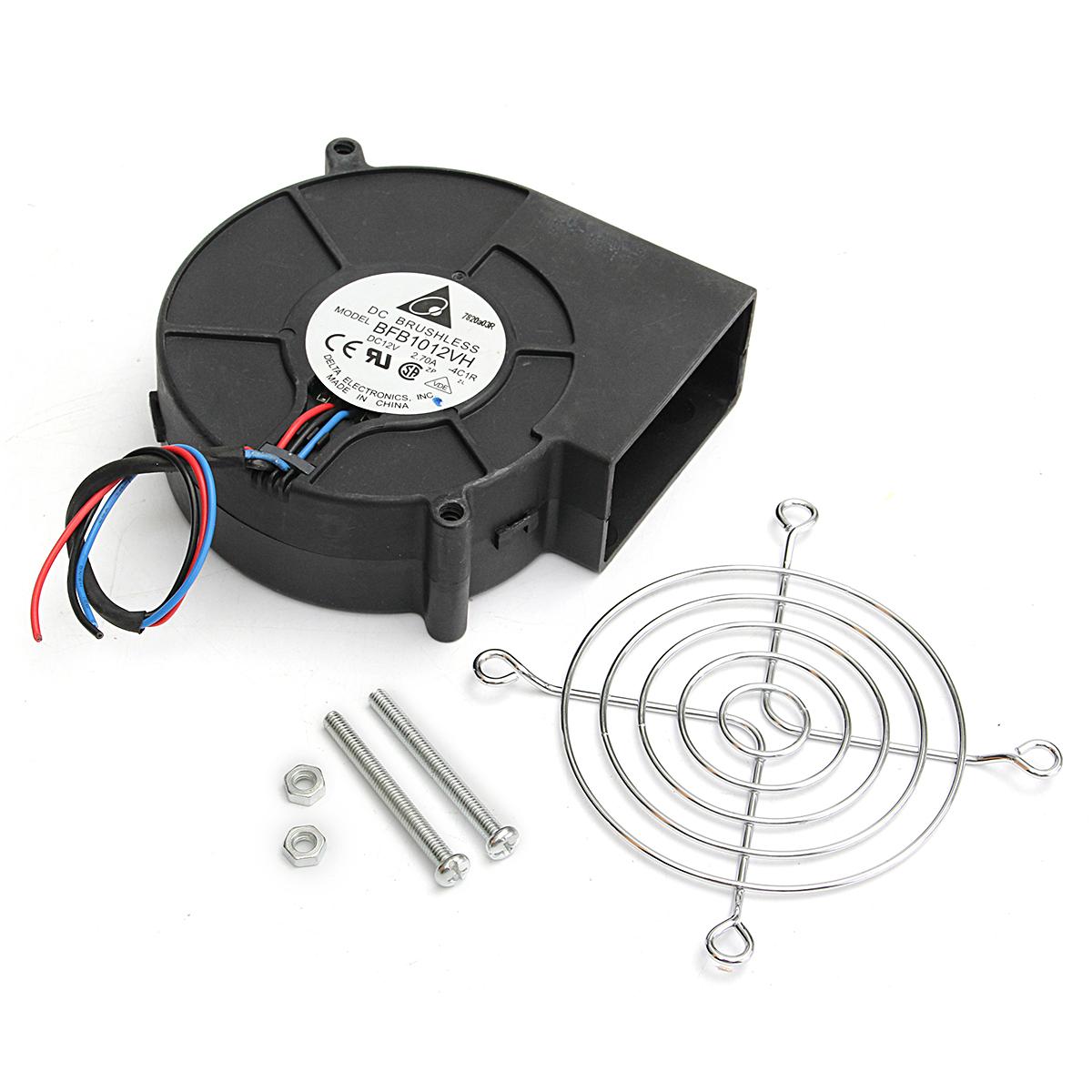 Воздуходувка Барбекю Приготовление Охлаждающий вентилятор Вентилятор вентилятора для печки для барбекю