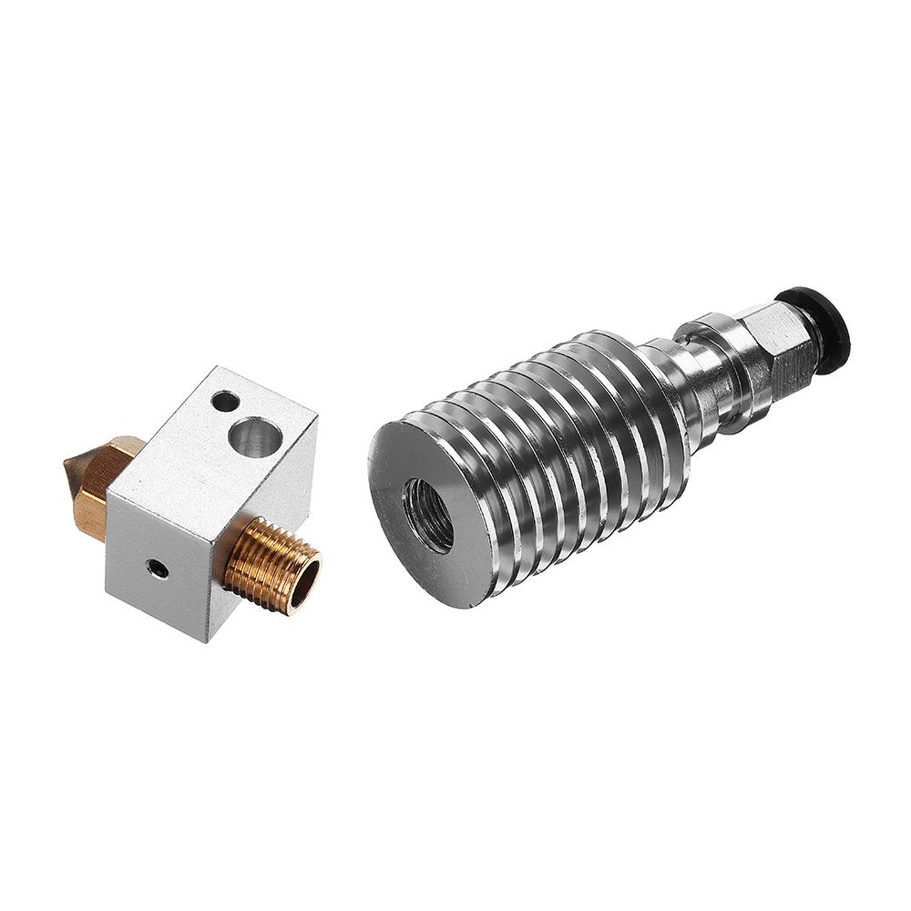 Мм V5 Обновлено Дистанционный Насадка экструдера Набор 0,4 мм латунное сопло / PC6-01 Пневматическое Коннектор