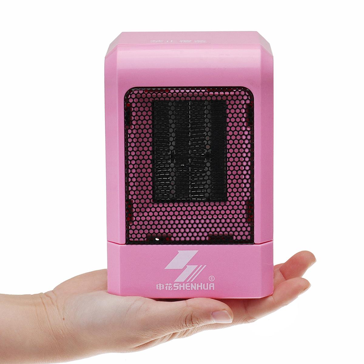 Электрический настольный вентилятор Нагреватель Mini Air Нагреватель Fan Winter Нагреватель