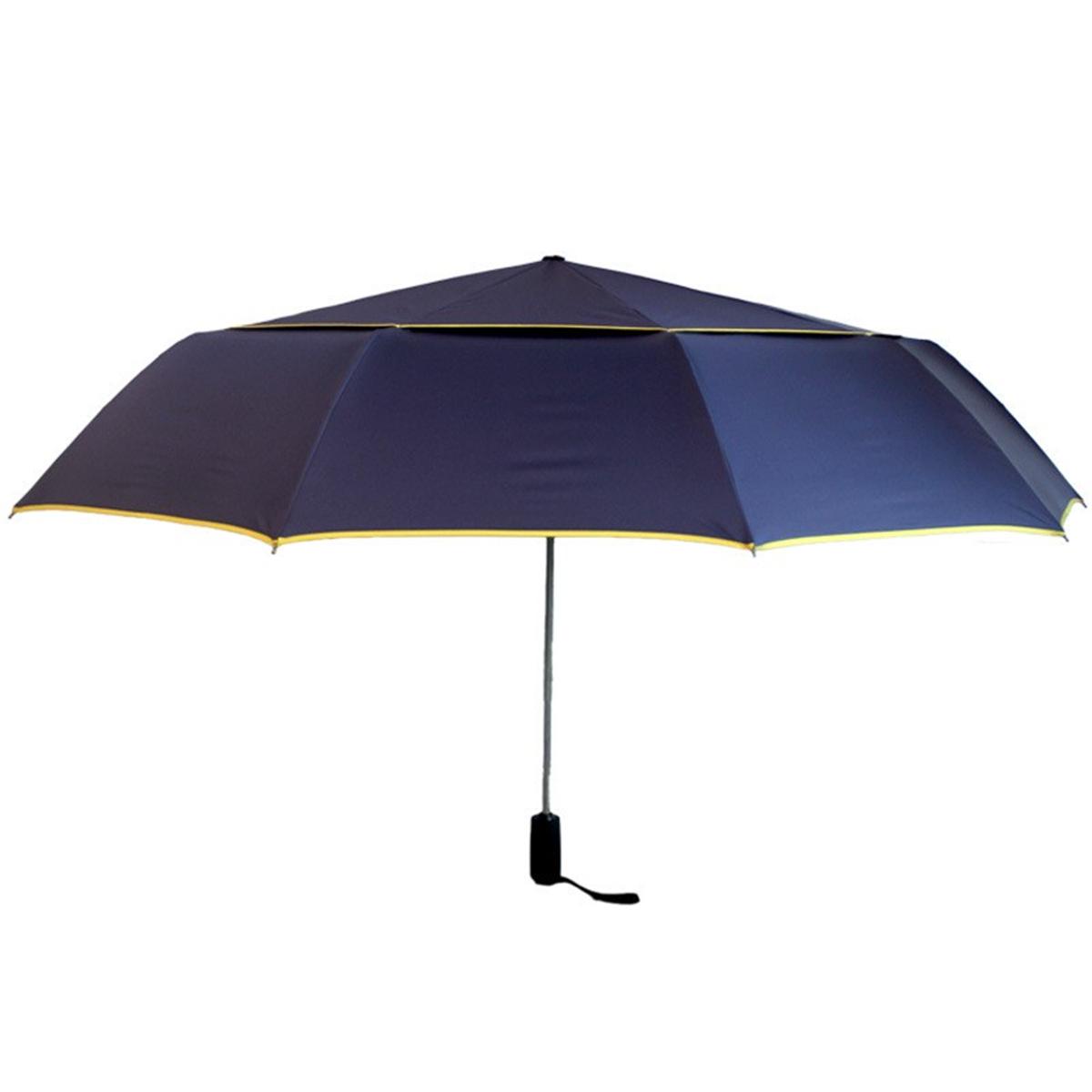 ОткрытыйАвтоматическая3СкладнойГольфЗонт Анти-Уф Ветрозащитный Большой Зонт от дождя