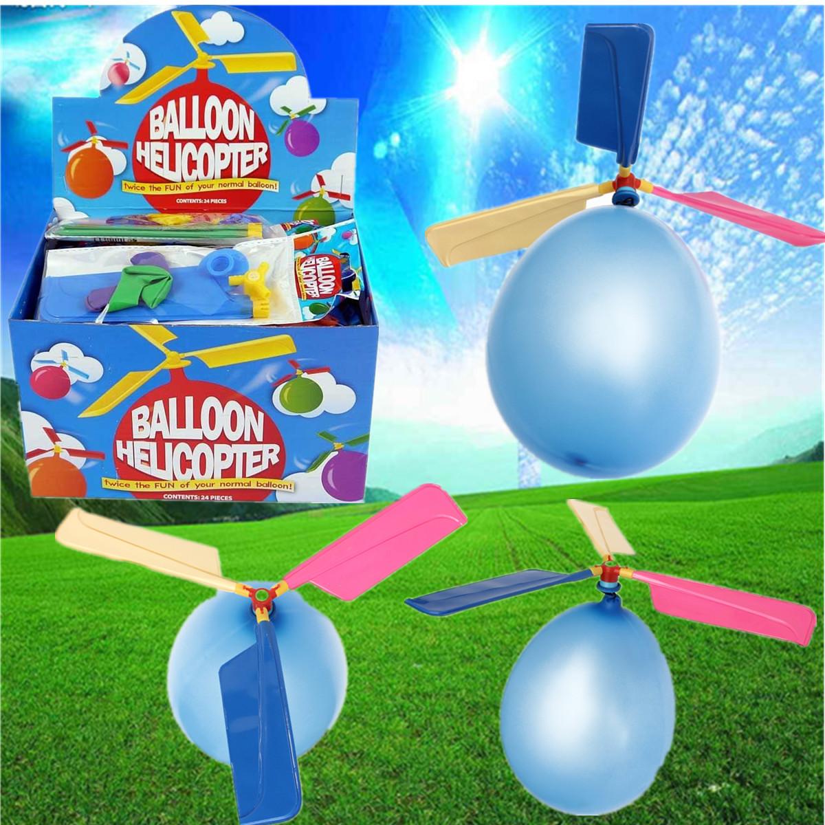 Красочные традиционные классические воздушные шары Портативный летающие вертолет Игрушки